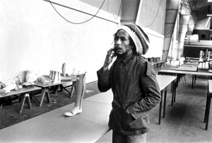 Bob Marley at clinic